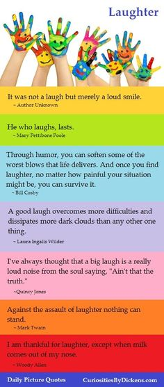 Daily Picture Quote:  Laughter