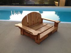Perhaps next Christmas :)   Adirondack Chair/PetBed for Your Dog by BigCreekMercantile on Etsy, $115.00