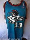 For Sale - Vintage Detroit Pistons Grant hill Authentic BNWT Basketball Champion NBA Jersey
