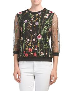 Embroidered Top - $19.99
