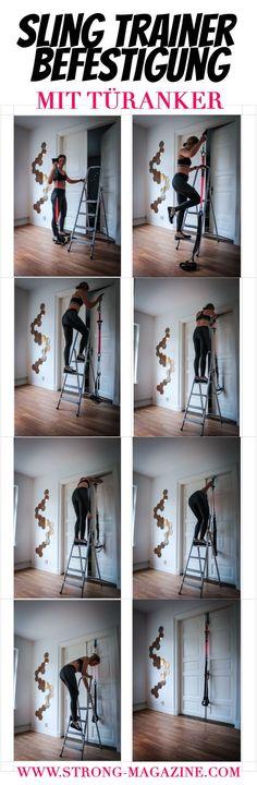 Sling Trainer Befestigung mit Türanker - Anleitung
