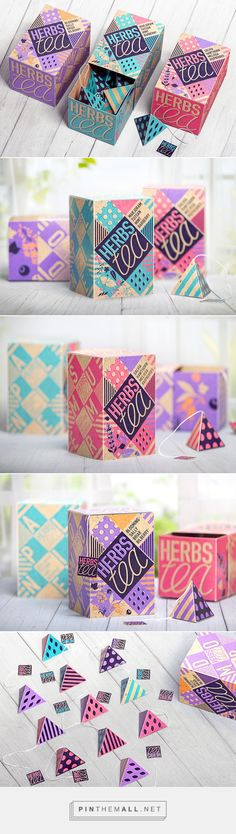 Herb Tea Packaging by Anton Danilov on Behance | Fivestar Branding – Design and…