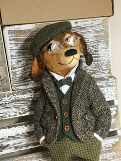 """Coud un 9 /""""TED Bertram bear soft toy teddy sewing pattern"""