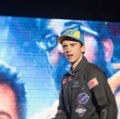 Rap singer Logic.