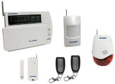 Macally Air-AlarmI D.I.Y. Wireless Home Alarm System Kit by SECURITY MAN. $95.18. Supports up to 5 phone numbers for auto alarm call & 1 management center protocol. Easy-to-use and cost-effective D.I.Y. (do-it-yourself) wireless intruder alarm system kit.. Easy ¿one-key¿ armed/disarmed operation.. Transmit at 430-433MHz frequency band, wireless transmitting distance up to 300 feet. Supports up to 60 wireless sensors. SecurityMan Air-Alarm1 is a state-of-the-art wireless alar...