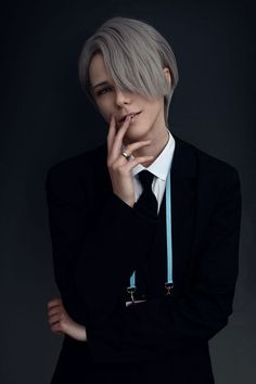 Omg he's so handsome - Viktor Nikiforov | Yuri!!! On Ice