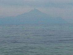 #Athos #view Sandy Beaches, Perfect Place, January, Mountains, Places, Nature, Travel, Naturaleza, Viajes