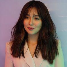 Kathryn Bernardo Photoshoot, Kathryn Bernardo Hairstyle, Hair Inspo, Hair Inspiration, Filipina Actress, Celebs, Celebrities, About Hair, Cut And Style