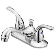 """Terra"" 2-handle bathroom faucet $50.99"