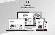 THOMSOON - Free responsive Portfolio Theme DOWNLOAD on Behance