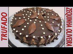 Bolo de Chocolate Trufado para Aniversário passo a passo