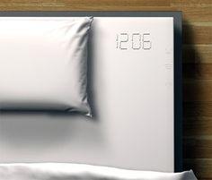 Bed Sheet Embedded Alarm Clock by Florian Schaerfer