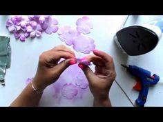 AgaC: różyczki z foamiranu - video tutorial