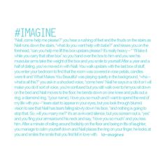 one direction imagines ❤ liked on Polyvore. That is literally my dream!!!!!!!!!!!!!!!! I love u niall!!!!