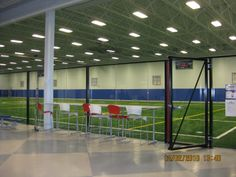 Weather is never a problem in our indoor soccer fields!
