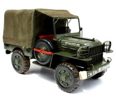 a Dodge WC51, of the type used during world war II.