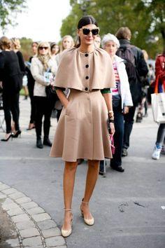 Giovanna Battaglia at Paris Fashion Week#pfw #paris #streetstyle l-o-v-e
