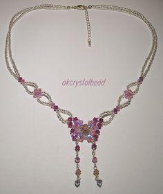 Swarovski Crystal NECKLACES | Swarovski Crystal butterfly necklace
