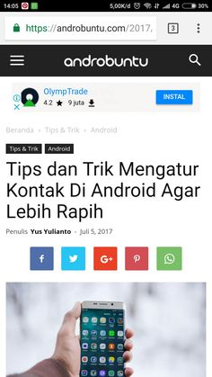 Tips dan trik mengatur kotak di android agar lebih rapih. Baca selengkapnya di androbuntu.com.