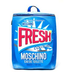 Moschino Fresh Couture Backpack ($525) ❤ liked on Polyvore featuring bags, backpacks, knapsack bags, moschino backpack, rucksack bag, couture bags and vegan backpack
