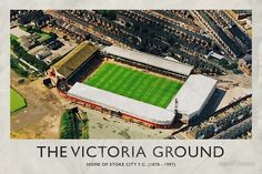 'Vintage Football Grounds - The Victoria Ground (Stoke City FC)' by twelfthman Civil Engineering Projects, Stoke City Fc, Bristol Rovers, British Football, Sports Stadium, Football Stadiums, Vintage Football, Stoke On Trent, Local History