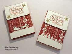 Adventskalender to go mit Stampin' Up!
