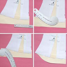 Make a Modern Sorbetto | Colette Blog Adding a curve to the bottom