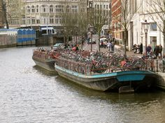 """""""Parking Lot"""" for bicycles in Amsterdam   Photo by Sue Frause"""