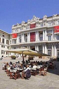 Genova Liguria Italy Piazza Metteotti Palazzo Ducale