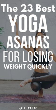Find the best 23 yoga poses to lose weight quickly. Learn the benefits and get the best tips to perform these poses anywhere. Yoga Meditation, Balance Yoga, Alo Yoga, Kundalini, Cool Yoga Poses, Hard Yoga Poses, Before And After Weightloss, Insanity Workout, Yoga Posen