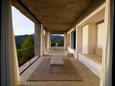 Stacked Concrete Squares Make Up This Incredible Vacation Home in Aragon, Spain - Dwell