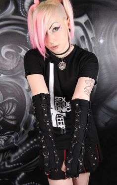 Virus Armwarmers :: VampireFreaks Store :: Gothic Clothing, Cyber-goth, punk, metal, alternative, rave, freak fashions