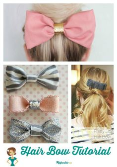26 Great DIY Hair Bow Tutorials