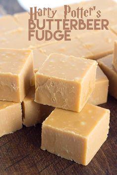 Harry Potter's Butterbeer Fudge (Lots of recipes)