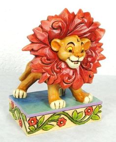 Jim Shore Disney Traditions - Simba - Just Can't Wait To Be King