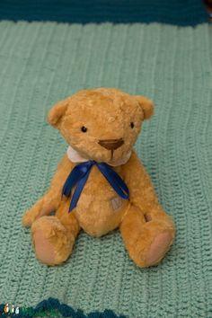 Aranybarna teddy mackó, maci (TVAgi) - Meska.hu