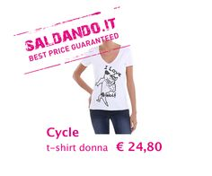 CYCLE t-shirt DONNA