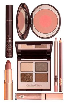 Achieve a golden, radiant look with this set of makeup must-haves expertly curated by Charlotte Tilbury.