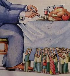 35 Deep Illustrations Showing the Harsh Reality of the World Political Art, Political Cartoons, Art Sketches, Art Drawings, Pictures With Deep Meaning, Satirical Illustrations, Meaningful Pictures, Deep Art, Social Art