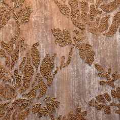 The stencil was made using cork in a medium use for troweling.  This finish is breathtaking!  www.fauxbykathy.com