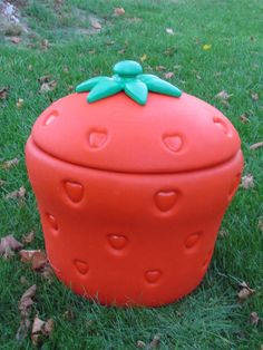 Vintage Little Tikes Strawberry Shortcake Toy Chest Toy Box Storage 1980s #LittleTikes