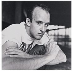 Keith Haring photographed by Philippe Bonan, June Jean Michel Basquiat, Jm Basquiat, Bad Painting, Street Culture, Pop Culture, Keith Allen, Keith Haring Art, Social Activist, Expositions