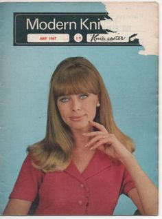 VINTAGE MODERN KNITTING MAGAZINE - MACHINE KNITTING - MAY 1967
