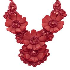 Whitby Flower Necklace