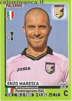 Calciatori 2014-2015: Fronte Figurina n. 354 Enzo Maresca