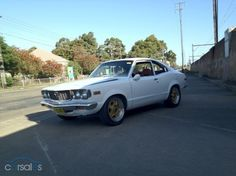 My 2nd car- mine was red- Mazda RX 3-- bought it for $300- Jody Reynolds ran over it and killed it.