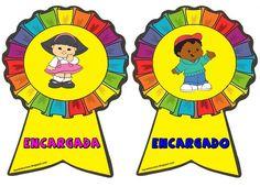 distintivos para niños de inicial - Buscar con Google