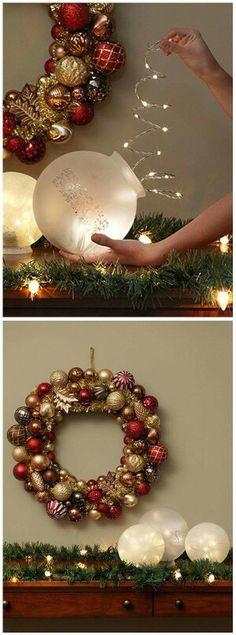 Christmas refurbished decorated