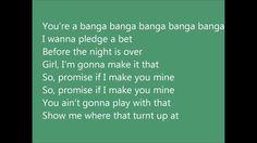 Austin Mahone - Banga Banga LYRICS