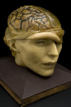 Antique Tools For Brain Surgery Are The Stuff of Nightmares {morbid human head #anatomy sculpture}
